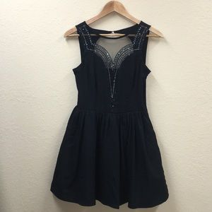 FOREVER 21 women's/juniors Small black dress